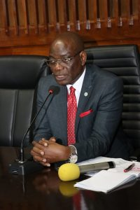 University of Lagos Vice Chancellor, Prof. Oluwatoyin Ogundipe, FAS,
