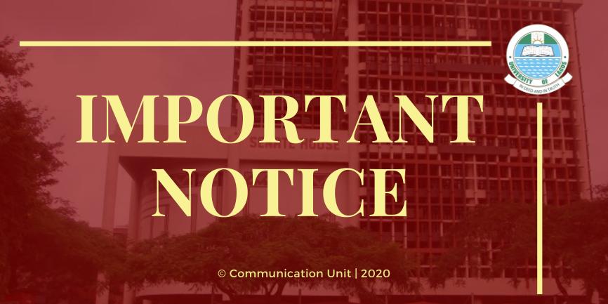 UNILAG Revised Academic Calendar For 2nd Semester